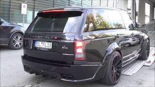 Тюнинг Range Rover Lumma CLR R