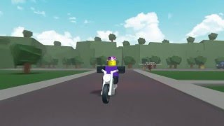 Ronald McDonald's Pizza Delivery Car Chase (ROBLOX)