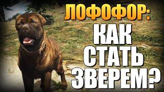 GTA 5 - Как Играть за Животных? (Лофофоры) #5