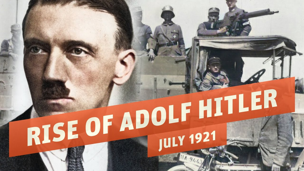 Adolf Hitler Becomes Führer of the Nazi Party - Erzberger Assassinated I THE GREAT WAR 1921