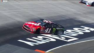 Kurt Busch 'really sorry' after wrecking late in final practice at Bristol