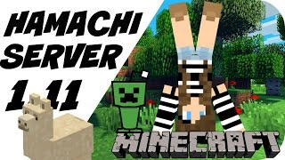 HOW TO CREATE MINECRAFT HAMACHI SERVER 1.11 (FAST)(, 2016-11-15T13:36:32.000Z)