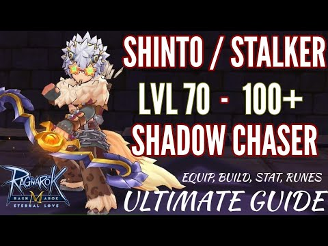 Stalker/Shinto to Shadow Chaser Full build guide, equip, stat, runes in Ragnarok Eternal love