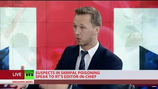 Why would the poisoning suspects approach RT?