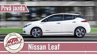 Nissan Leaf 2018: Z Bratislavy do Banskej Bystrice bez dobíjania