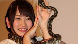 アイドルグループ「AKB48」のメンバーで、新ユニット「BKA48」のセンタ...