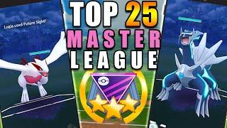 TOP 25 *MASTER LEAGUE* POKÉMON GO BATTLERS - GO BATTLE LEAGUE TOP PICKS | POKÉMON GO