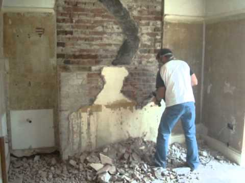 removing the bedroom chimney youtube. Black Bedroom Furniture Sets. Home Design Ideas