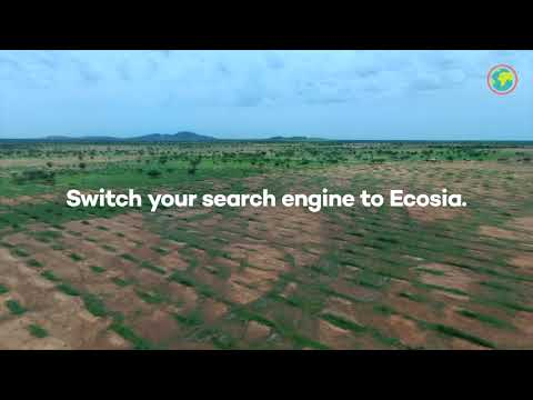Switch to Ecosia the alternative search engine