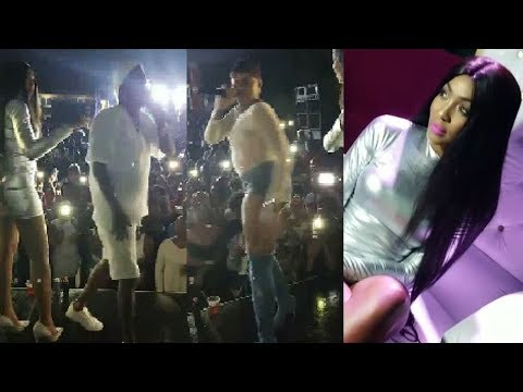 Beenie Man Embarrass His Ex- Wife 'D' Angel' Live On Stage | LIVE Footage | D' Angel Birthday