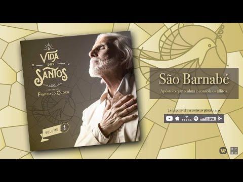 """São Barnabé - """"A Vida dos Santos"""" - Narração: Francisco Cuoco [Vídeo Lyric Oficial]"""