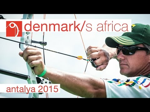 Denmark v South Africa – Compound Mixed Team Gold Final | Antalya 2015