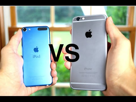 iPod Touch (6th Generation) Vs iPhone 6