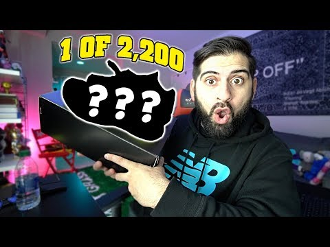 BUYING MY FIRST SNEAKER OF 2020!! *ONLY 2,200 PAIRS IN THE WORLD!!