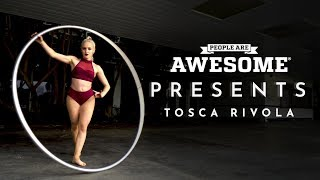 People Are Awesome Presents: Tosca Rivola | Cyr Wheel