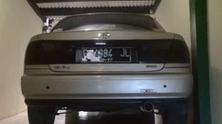 Suara Knalpot Racing HKS Mobil Mazda Familia