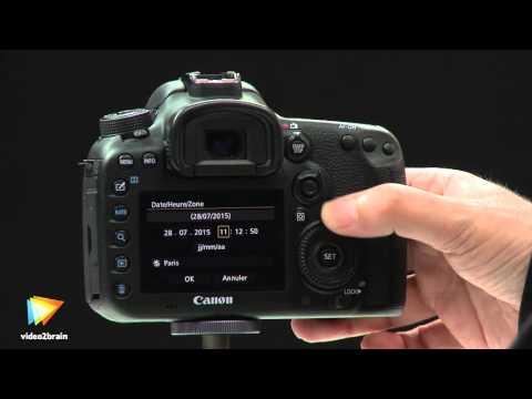Tutoriel Les fondamentaux du Canon 7D Mark II : Déterminer les réglages de base | video2brain.com