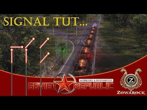 Workers & Resources: Soviet Republic S2 MOD ⚒ Signal Tutorial lite [Gameplay deutsch]