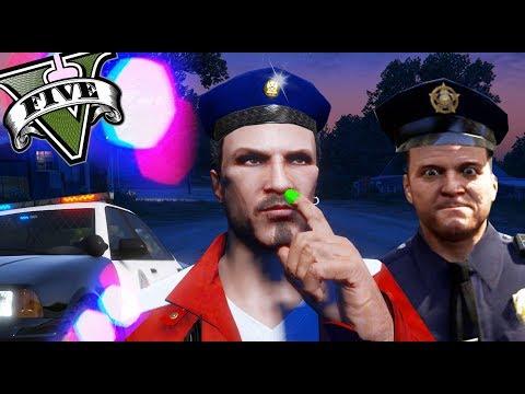 GTA V LIFE - 3 POLICÍAS MUY MONGOLOS! XDD - NexxuzHD