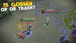 NEW Hero Gossen + New Skin First Gameplay, Thoughts Mobile Legends