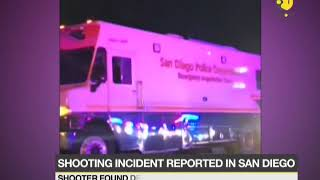 San Diego: Shooter opens fire on police, firefighters