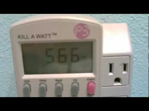 How to measure power consumption (wattage/amperage) of any item or device - personal power meter $20
