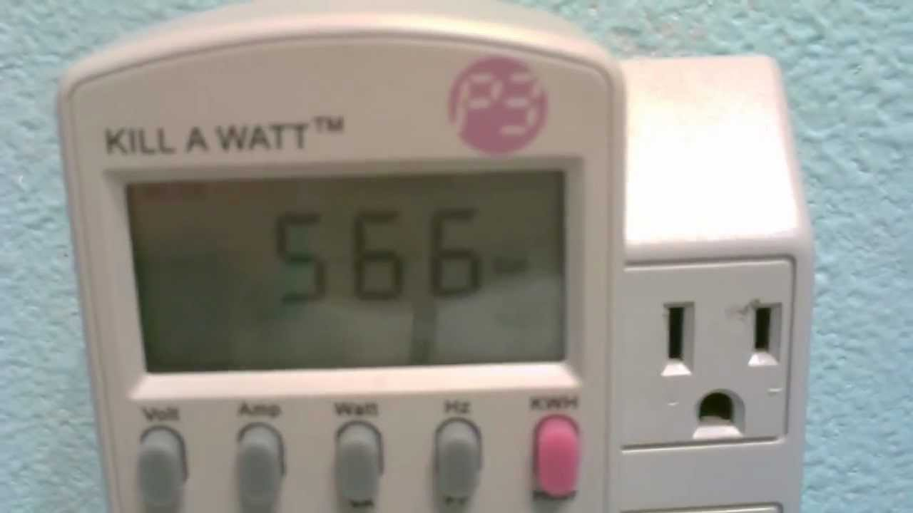 How to measure power consumption (wattage/amperage) of any item or ...