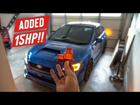 Adding an Easy 15HP to the WRX! | Boomba BPV