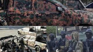 Aksidan : Kòtèj Martine Moïse, 2 Polisye USGPN Mouri