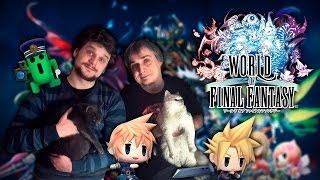 World of Final Fantasy - обзор на Русском