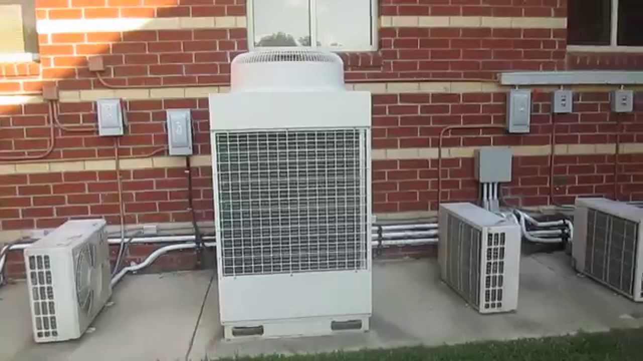 Mitsubishi City Multi HVAC Unit and Mitsubishi Mr Slim