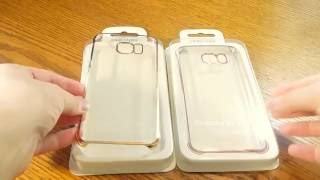 Чехол накладка для Galaxy S7 Edge пластиковый, тонкий, прозрачный(Прозрачный чехол накладка для Samsung S7 Edge Cover PC Накладка тонкая и создает минимум дополнительной толщины...., 2016-08-15T11:07:04.000Z)