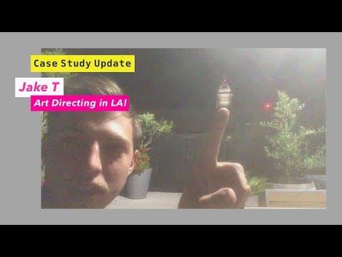 Case Study Update   Jake T Art Directing in LA!
