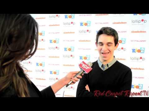 Zachary Gordon at the Lollipop Theater NightUnderTheStars RIO2 at @NickelodeonTV @ZacharyGordon