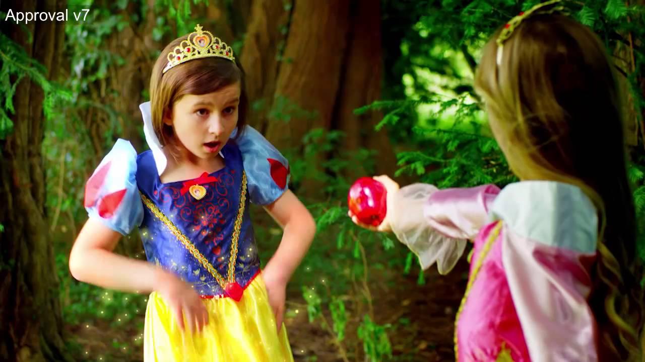 Rubie's Disney Princess Television Advert - YouTube