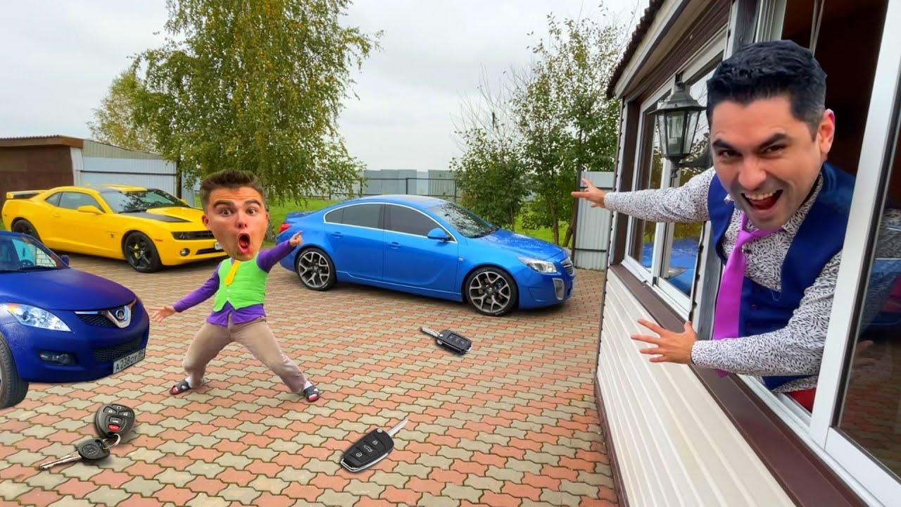 Download Mr. Joe on Chevy Camaro Stole Car Keys & Wheelbarrow VS Mr. Joker on Audi 80 Hid Car Keys 13+