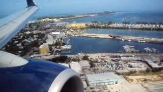 Landing in Key West FL.