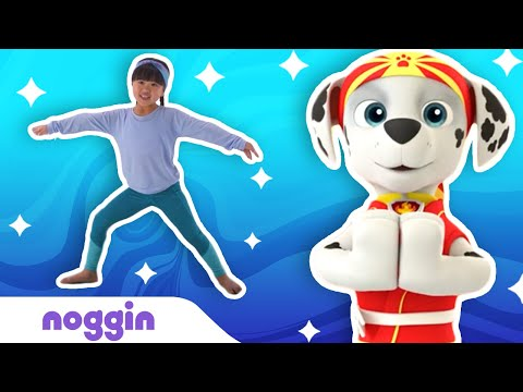 At Home Yoga for Kids w/ PAW Patrol, Bubble Guppies & Team Umizoomi 🧘‍♀️ Noggin | Nick Jr.