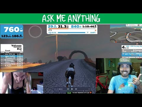 FULL Zwift A Race + ASK ME ANYTHING