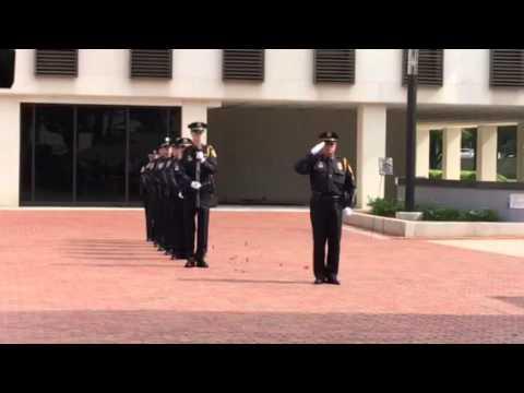 21 Gun Salute, Florida State Law Enforcement Memorial 2016