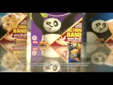 Kung Fu Panda AUSTRALIAN Kellogg's commercial