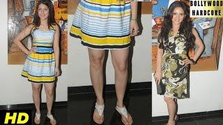 HOT Actresses Divyetta Singh and Shweta Khanduri Revealing HOT Legs at Krishna Ki Murli Movie Launch