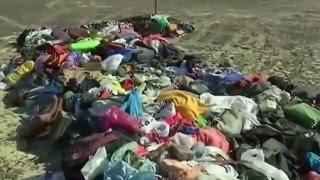 Последствия страшной авиакатастрофы над Синаем А-320