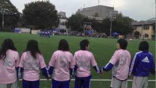 日体大女子サッカー部 2012 インカレモチベ