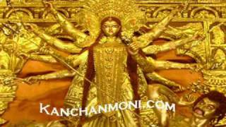 Durga Mantra Shakti 1. Must watch ! Sanskrit Stotaas with Bengali Translation.