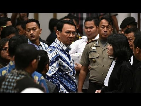 Christian governor of Jakarta imprisoned for blasphemy