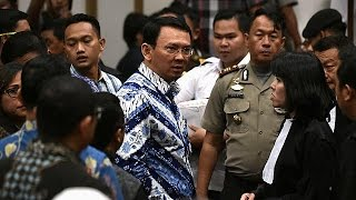 Video Christian governor of Jakarta imprisoned for blasphemy download MP3, 3GP, MP4, WEBM, AVI, FLV Juni 2017