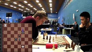 Jeffery Xiong (2712) vs Vladislav Kovalev (2660)    Tata Steel Masters 2020 - R8