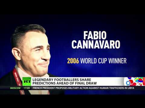 Who will win World Cup 2018? Legendary footballers share predictions ahead of Final Draw