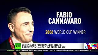 Video Who will win World Cup 2018? Legendary footballers share predictions ahead of Final Draw download MP3, 3GP, MP4, WEBM, AVI, FLV Desember 2017